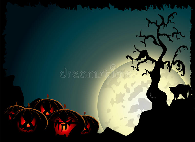 Download Halloween background stock vector. Illustration of wallpaper - 21760018