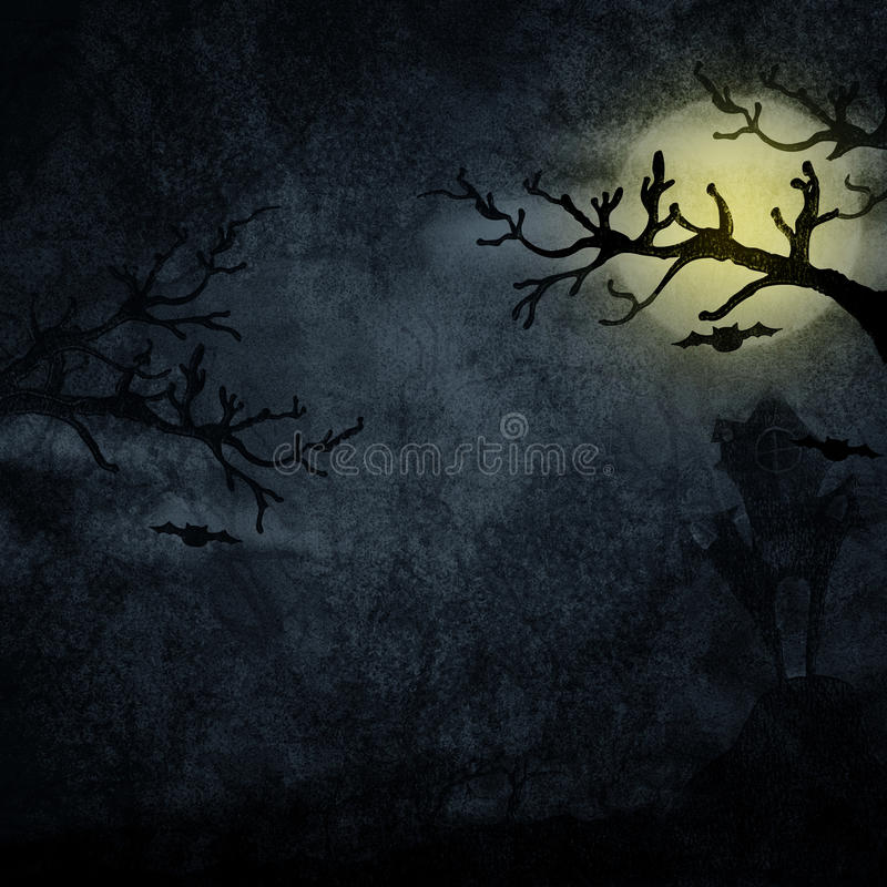 Free Halloween Background Royalty Free Stock Photos - 23002558