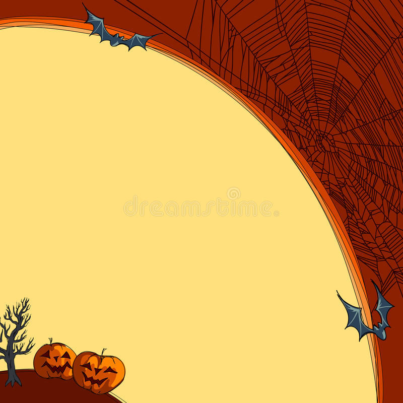 Download Halloween background stock vector. Illustration of fear - 26946463