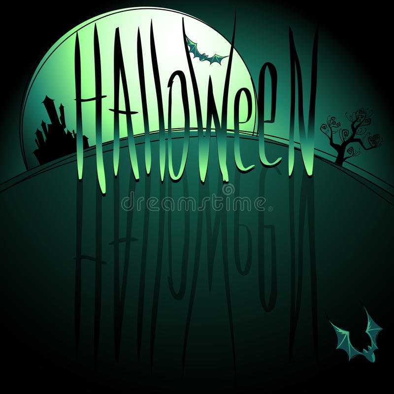 Download Halloween background stock vector. Image of horror, fear - 26946597