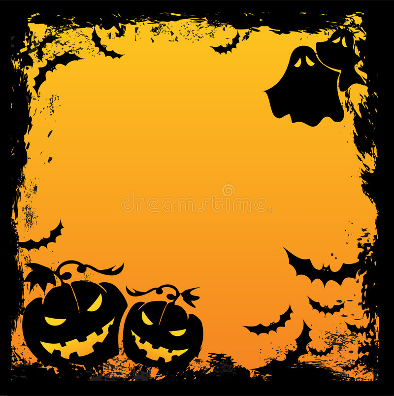 Free Halloween Background Royalty Free Stock Photo - 6121825