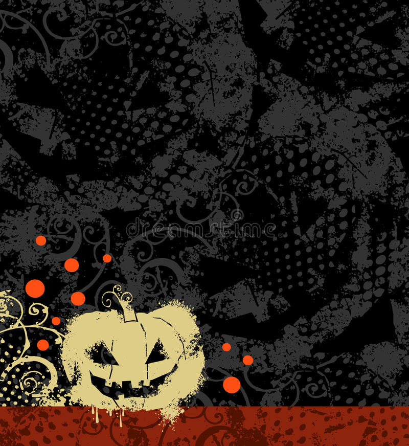 Download Halloween background stock illustration. Image of fear - 6374542