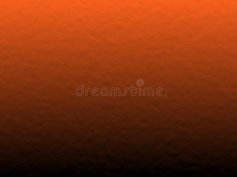 Halloween background, black and orange color abstract background with gradient, design for halloween, autumn background, desktop,. Wallpaper or website design stock illustration