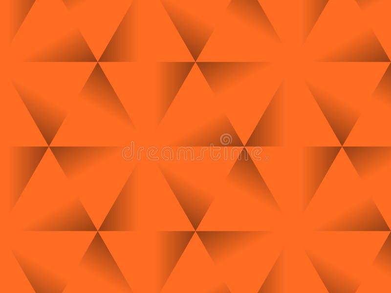 Halloween background, black and orange color abstract background with gradient, design for halloween, autumn background, desktop,. Wallpaper or website design stock illustration