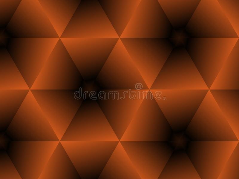 Halloween background, black and orange color abstract background with gradient, design for halloween, autumn background, desktop,. Wallpaper or website design royalty free illustration