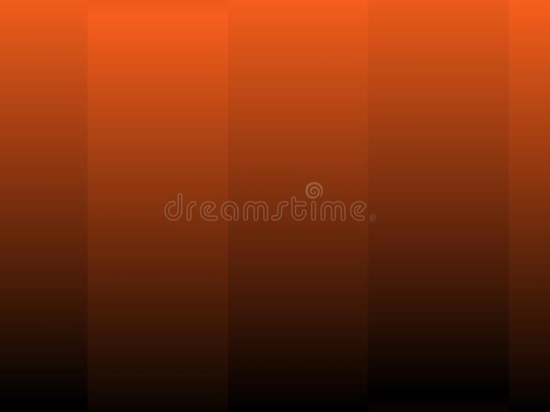 Halloween background, black and orange color abstract background with gradient, design for halloween, autumn background, desktop,. Wallpaper or website design vector illustration