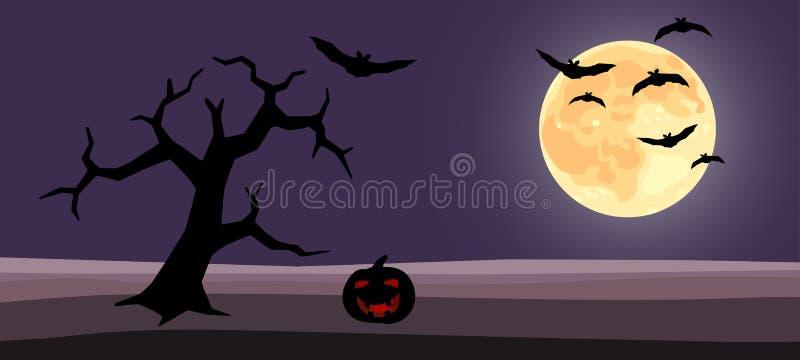 Halloween background cartoon vector illustration vector illustration
