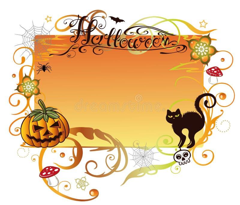 Halloween, background vector illustration