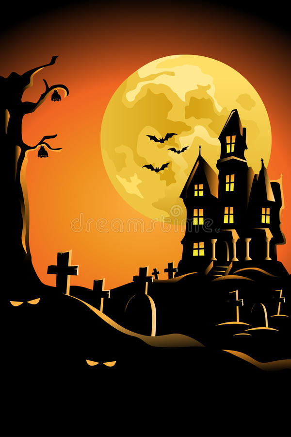 Free Halloween Background For Halloween Poster Royalty Free Stock Image - 33322916