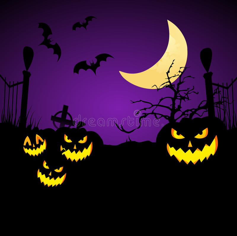 Halloween Background. royalty free stock image