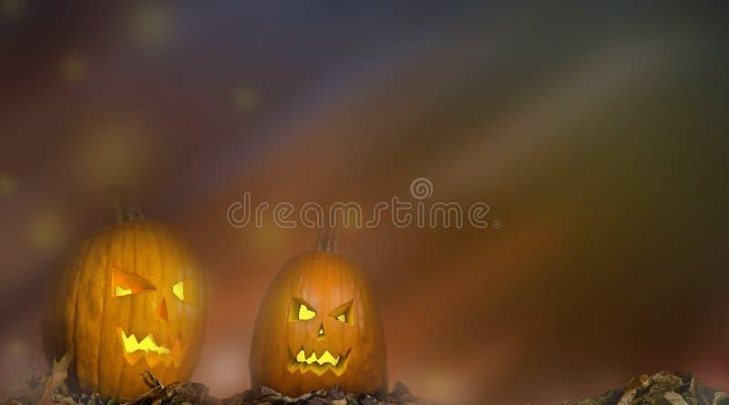 Halloween background. Spooky pumpkin dark colors fantasy scary texture royalty free stock photos