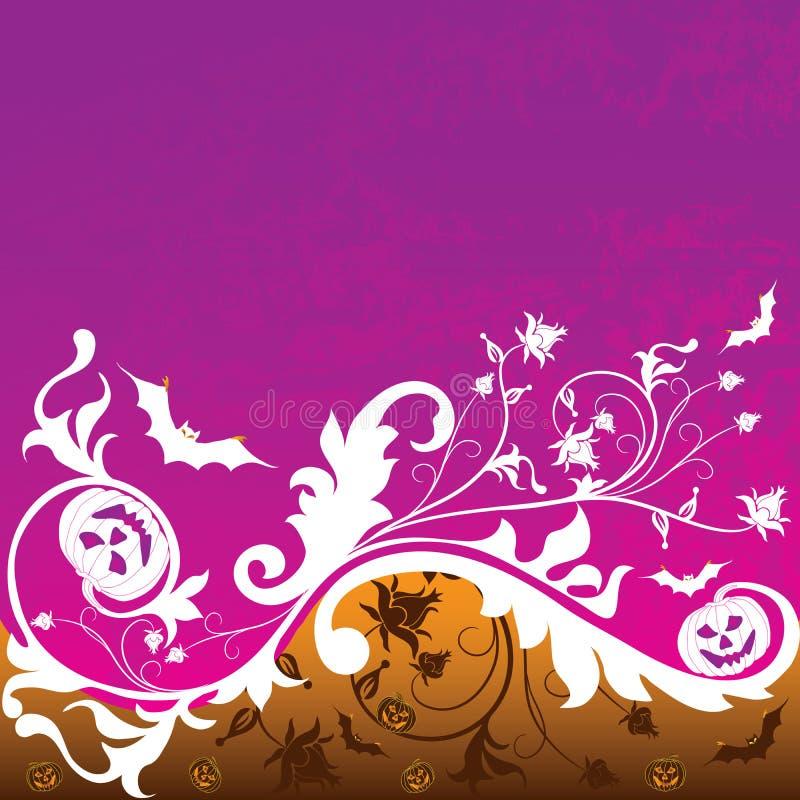 Halloween background, vector stock image