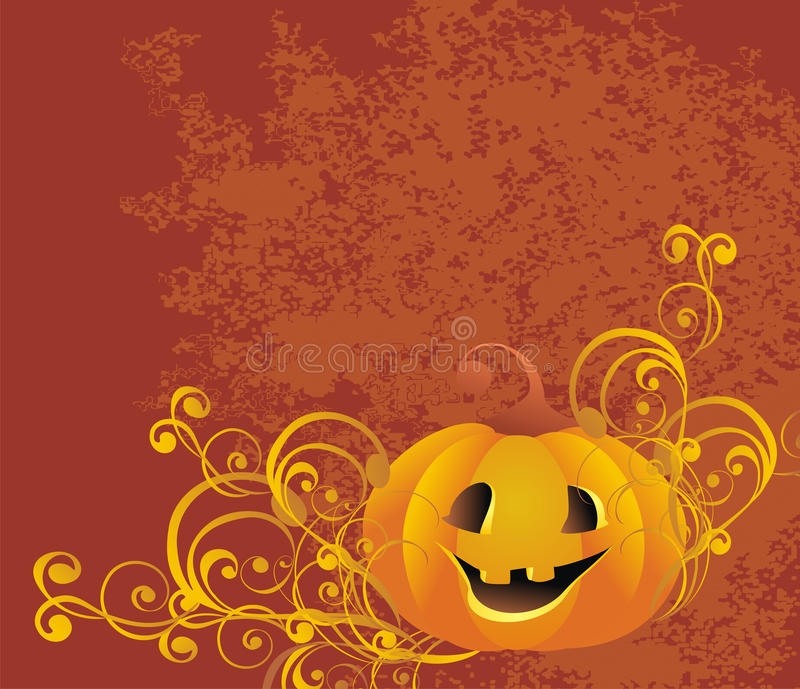 Halloween Background. Vector Illustration Royalty Free Stock Photo