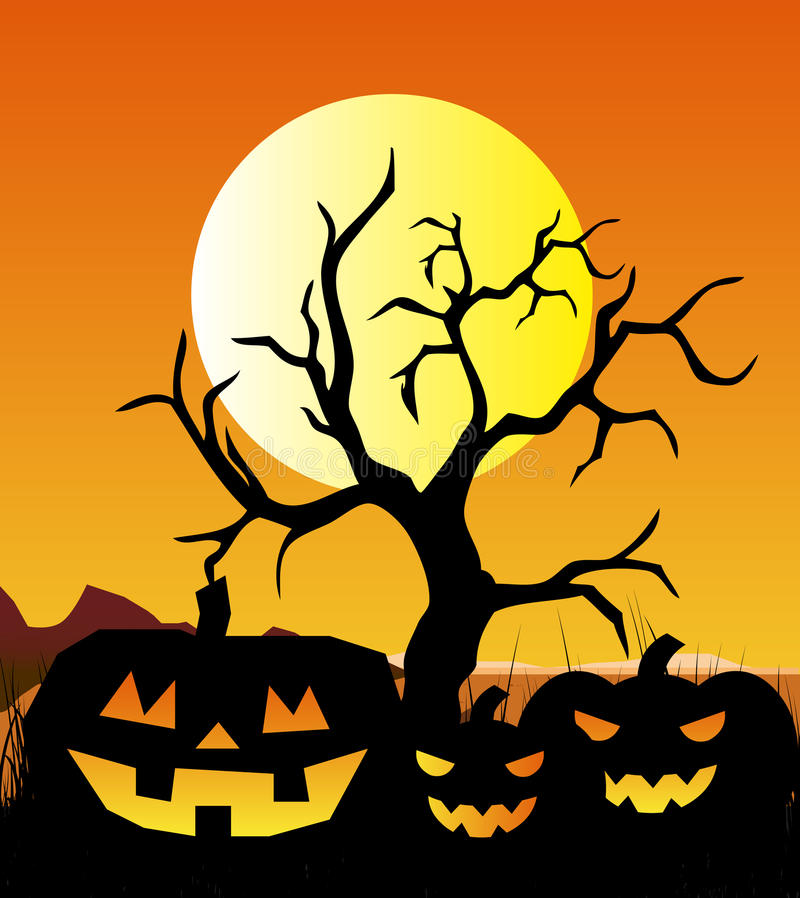 Halloween Background royalty free illustration