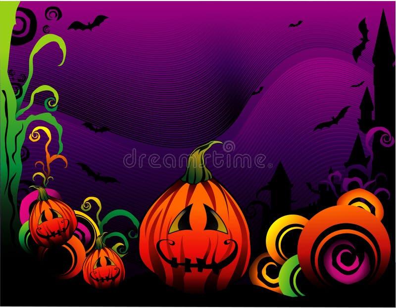 halloween bani wektor ilustracja wektor