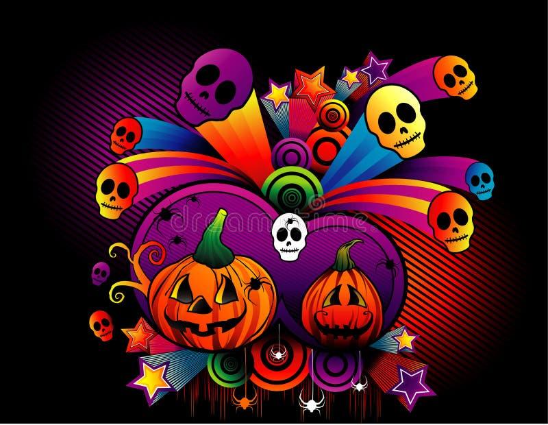 halloween bani wektor ilustracji