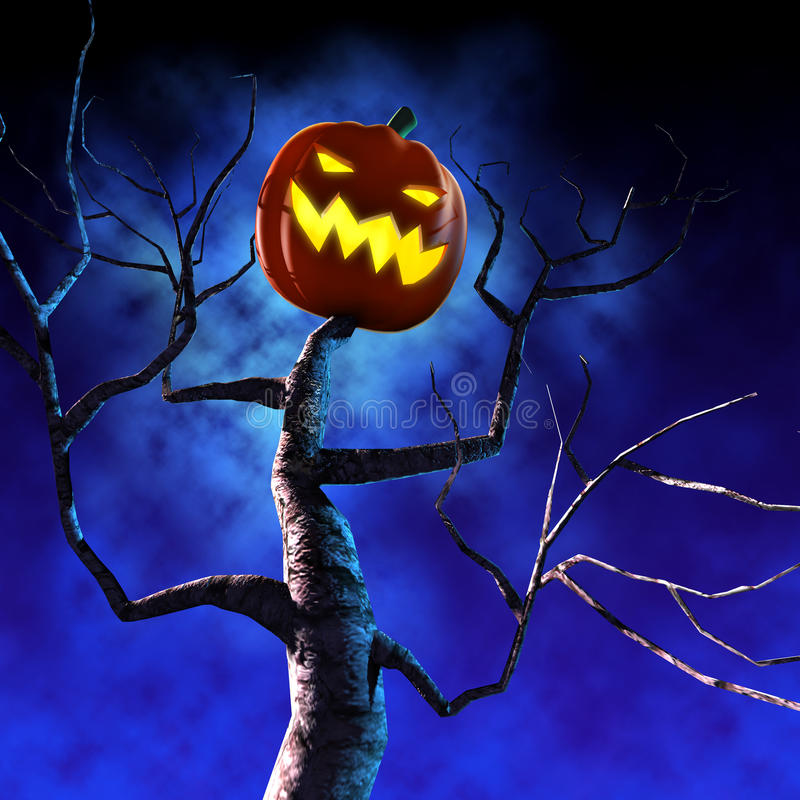 halloween bania royalty ilustracja