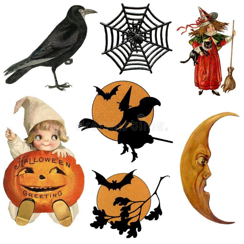Halloween, bania, klamerki sztuka, ilustracja