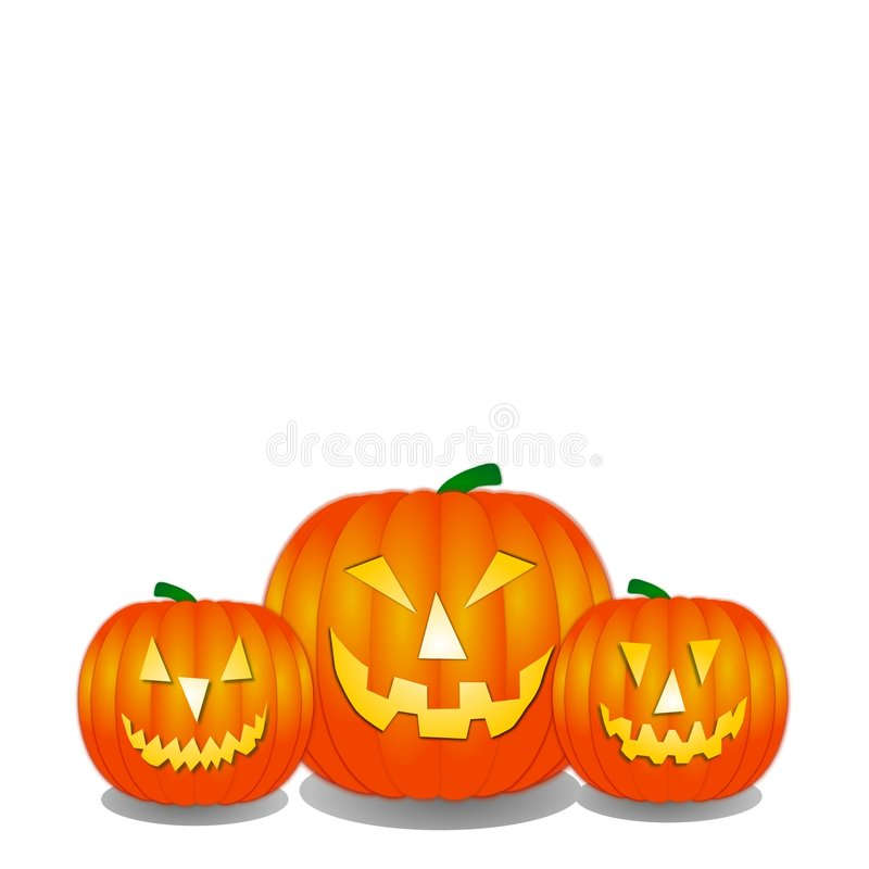 halloween banie royalty ilustracja