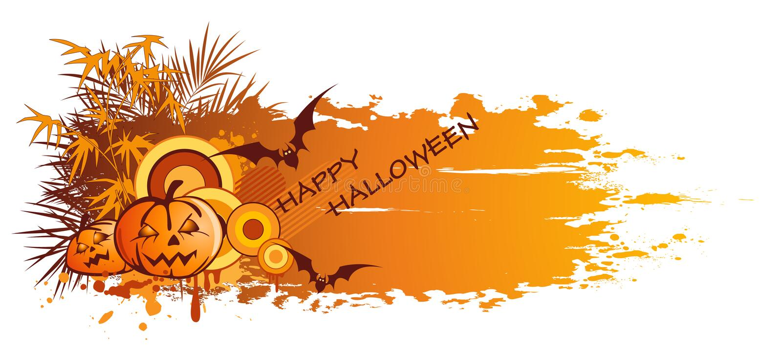 Download Halloween banner stock vector. Illustration of silhouette - 16207790