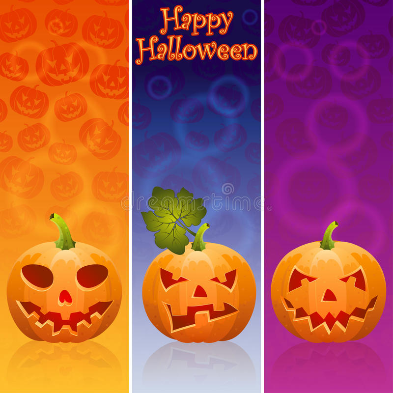 Download Halloween banner stock vector. Image of halloween, pumpkin - 21157056