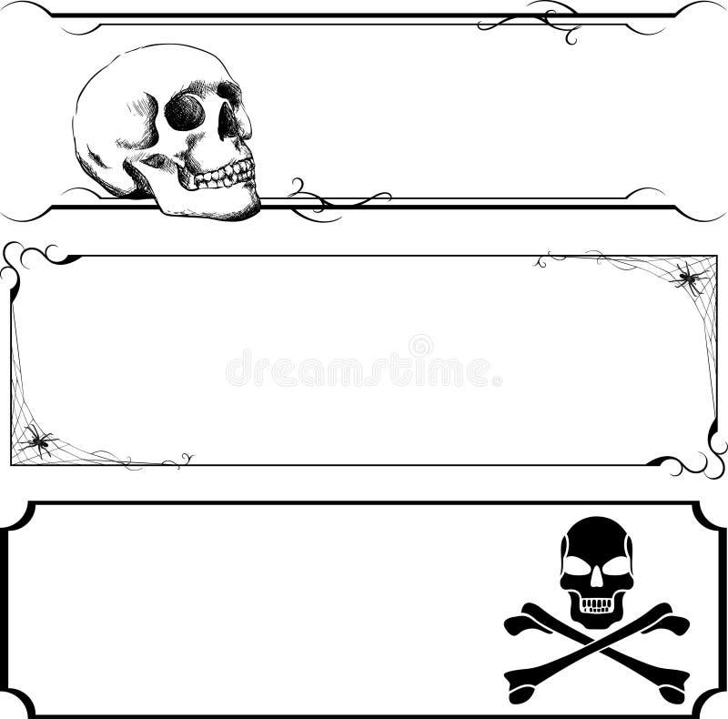 Download Halloween Banner Set stock vector. Image of halloween - 26831755