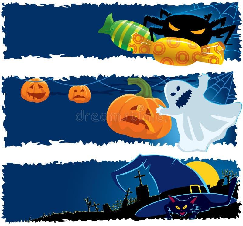 Download Halloween banners stock vector. Image of halloween, illustration - 10632528