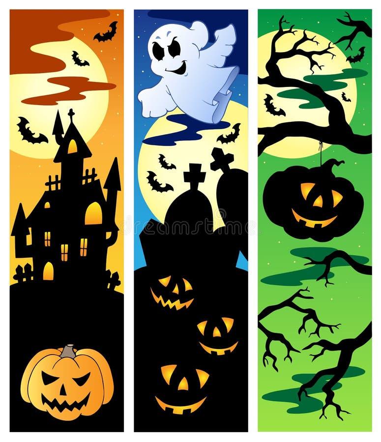 Download Halloween banners set 5 stock vector. Illustration of artwork - 21060860