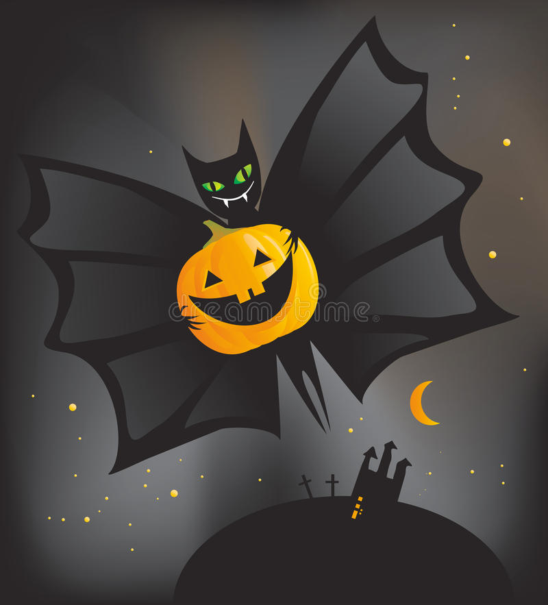 Halloween Bat Stock Photos