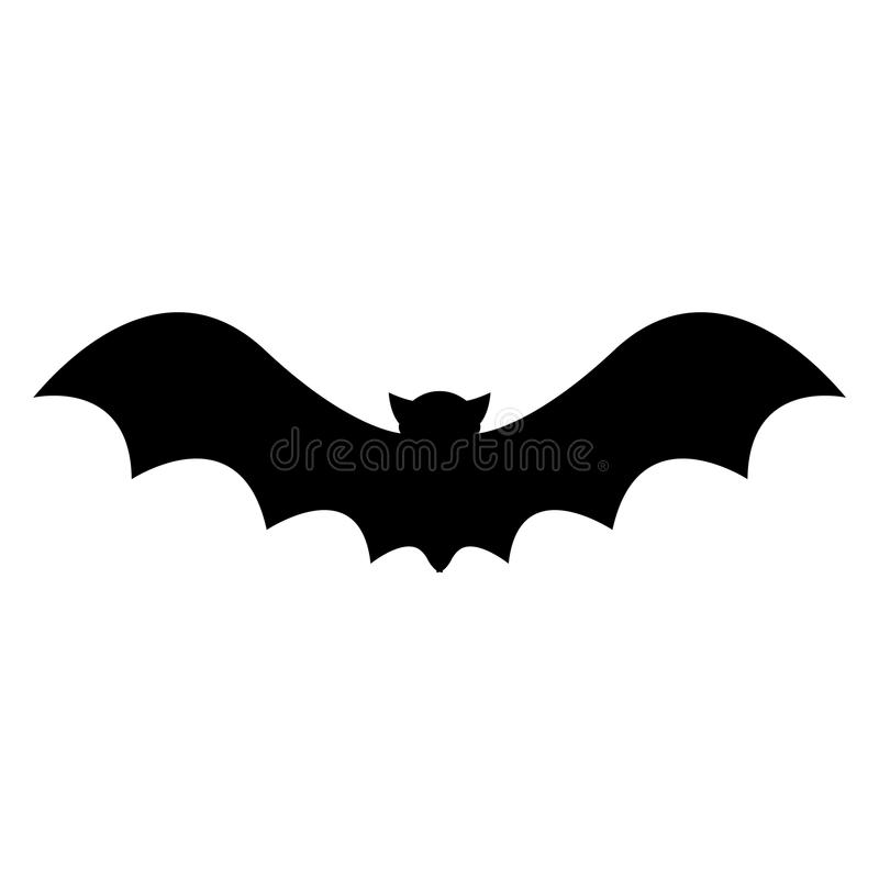 HALLOWEEN BAT VECTOR royalty free illustration