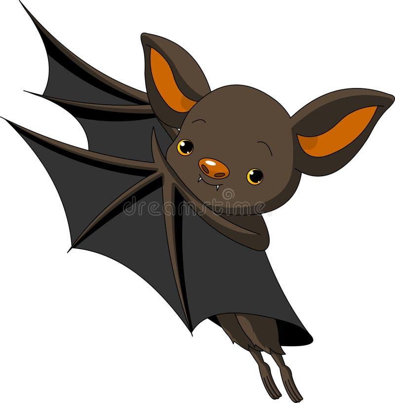 Halloween  Bat Presenting Stock Photo