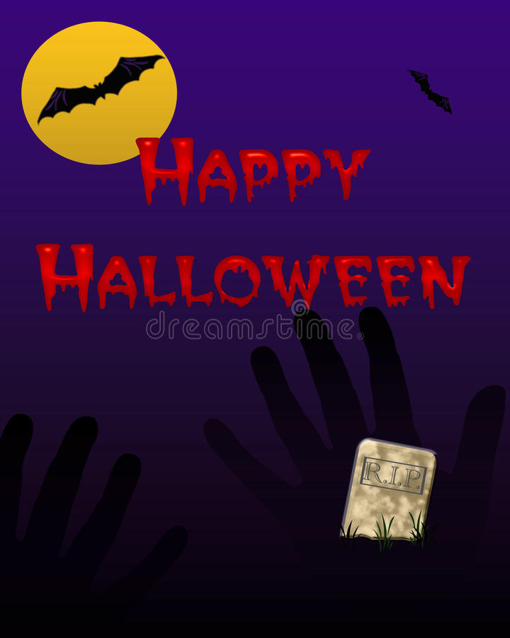Download Halloween bats stock illustration. Image of party, eerie - 20765353