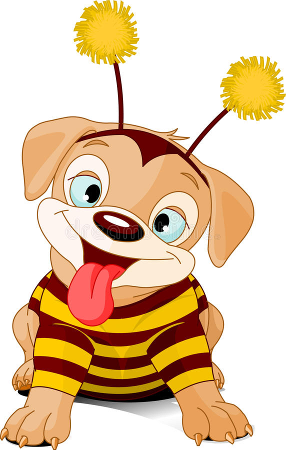 Download Halloween Bee-dog Stock Photos - Image: 11210563