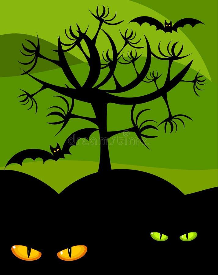 halloween bezludzie ilustracji