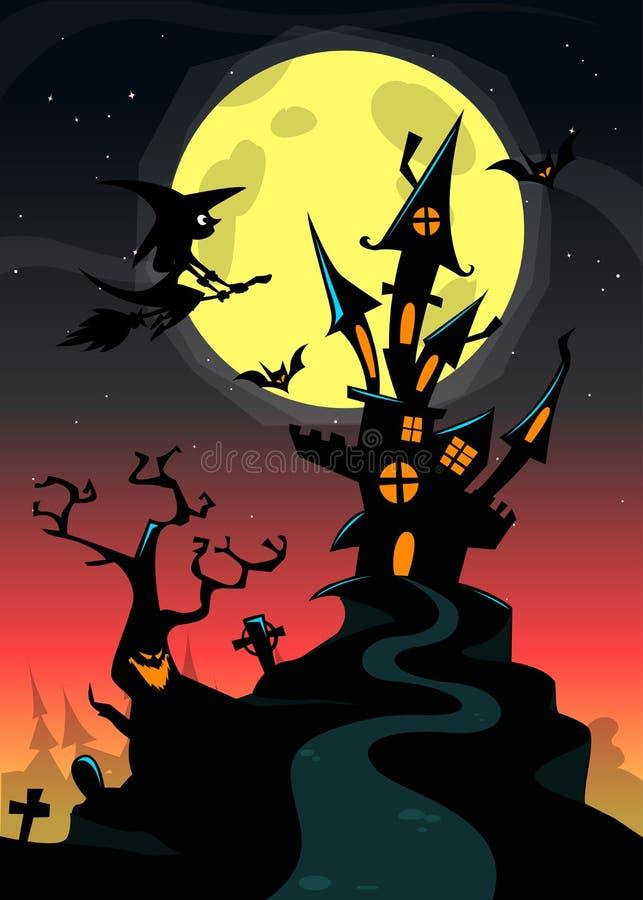57_halloween_bg vektor illustrationer