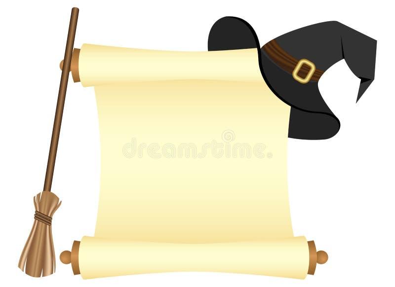 Halloween blank stock illustration