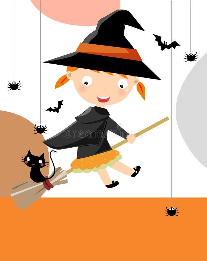 Halloween bonito ilustração stock