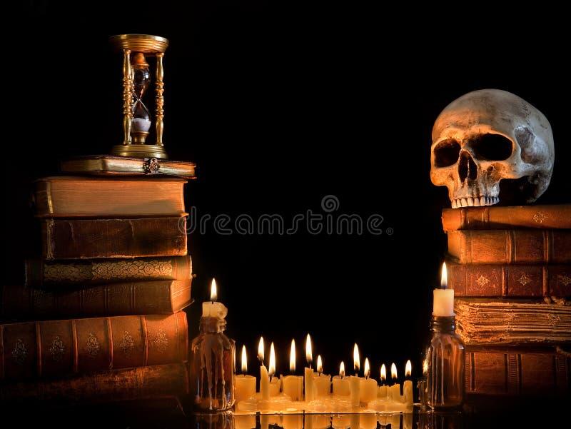 Download Halloween border 1 stock image. Image of haunted, glow - 16036443