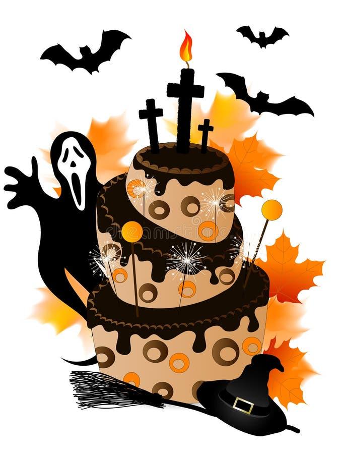 Halloween Cake Stock Images