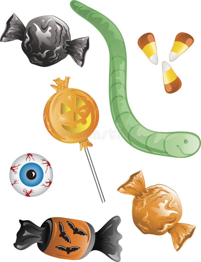 Download Halloween Candy stock illustration. Image of halloween - 11014025