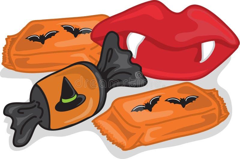 Halloween candy stock photos