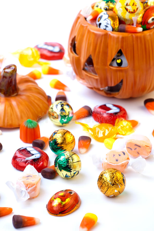 Download Halloween candy assorti stock image. Image of close, scatter - 14945045
