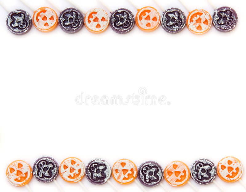 Download Halloween Candy Border stock image. Image of seasonal - 6486891
