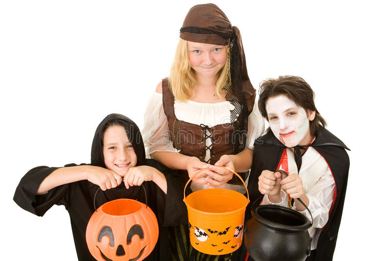 Download Halloween Candy Please stock image. Image of adolescent - 6282557