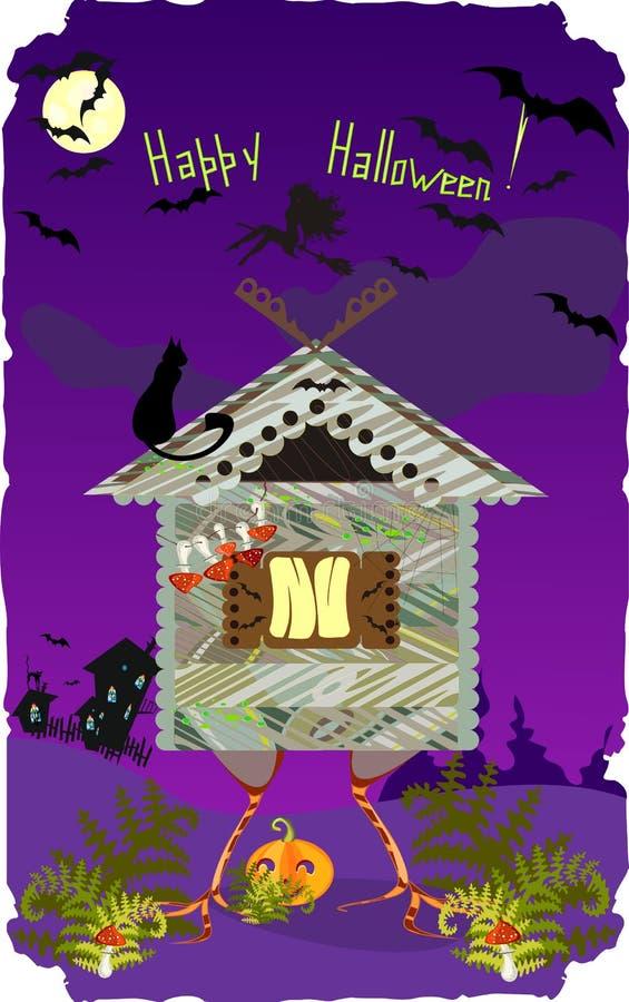 Download Halloween Card stock image. Image of woman, amanita, muscaria - 34272173