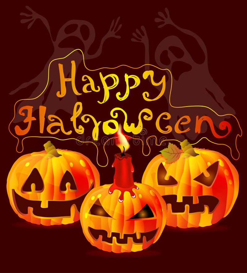 Download Halloween Card With Place For Text Stock Photos - Image: 26948433