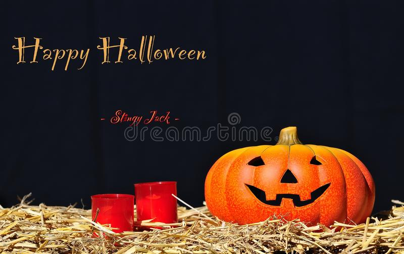 Halloween Cards. royalty free stock photography