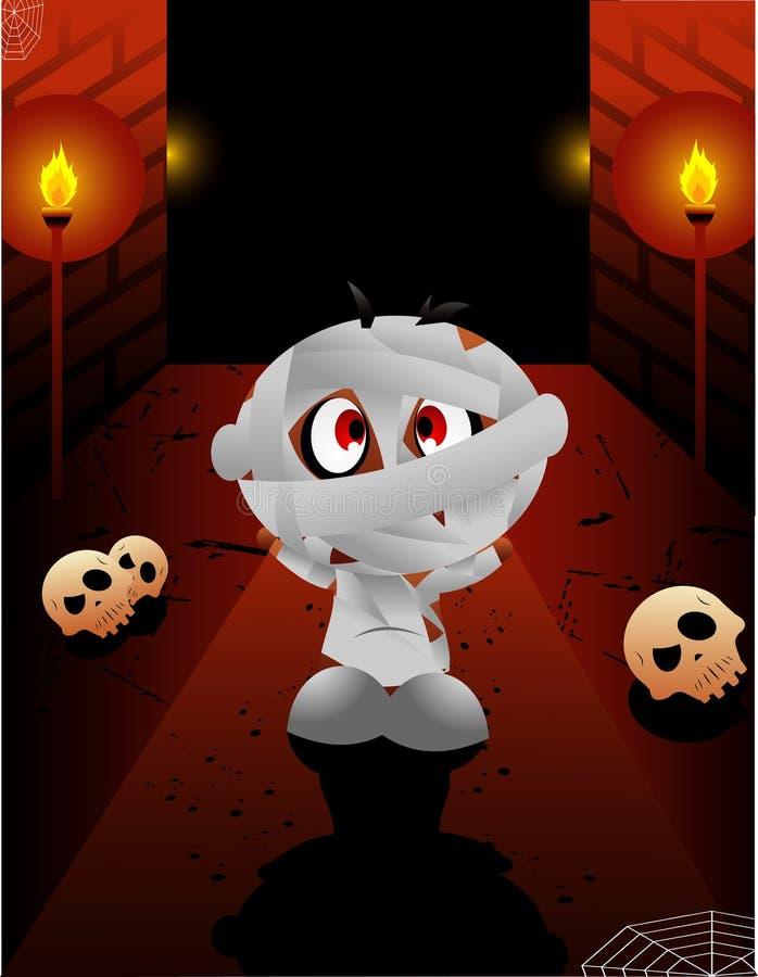 Download Halloween Cartoon Mummy Vector Stock Vector - Illustration of piramir, death: 6568090