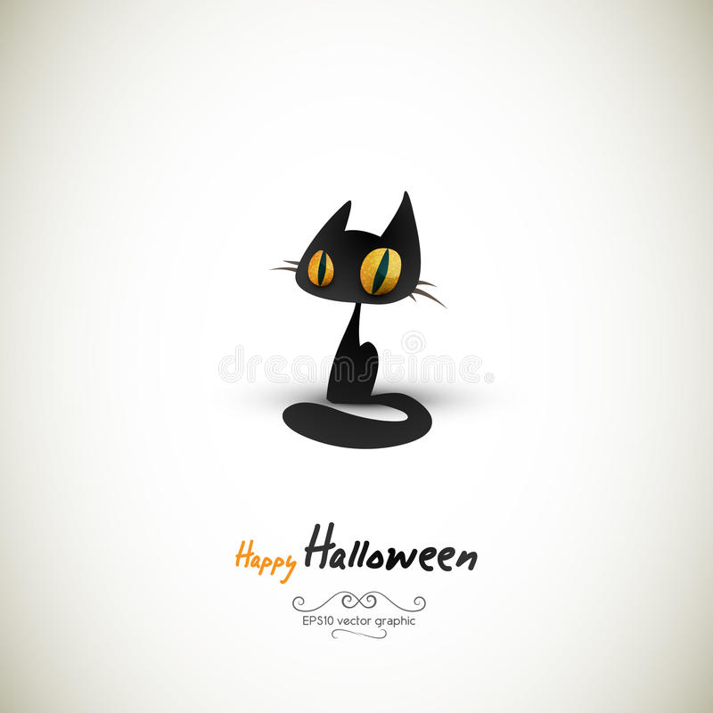 Download Halloween Cat | Separate Layers Named Accordingly Stock Vector - Image: 21524857