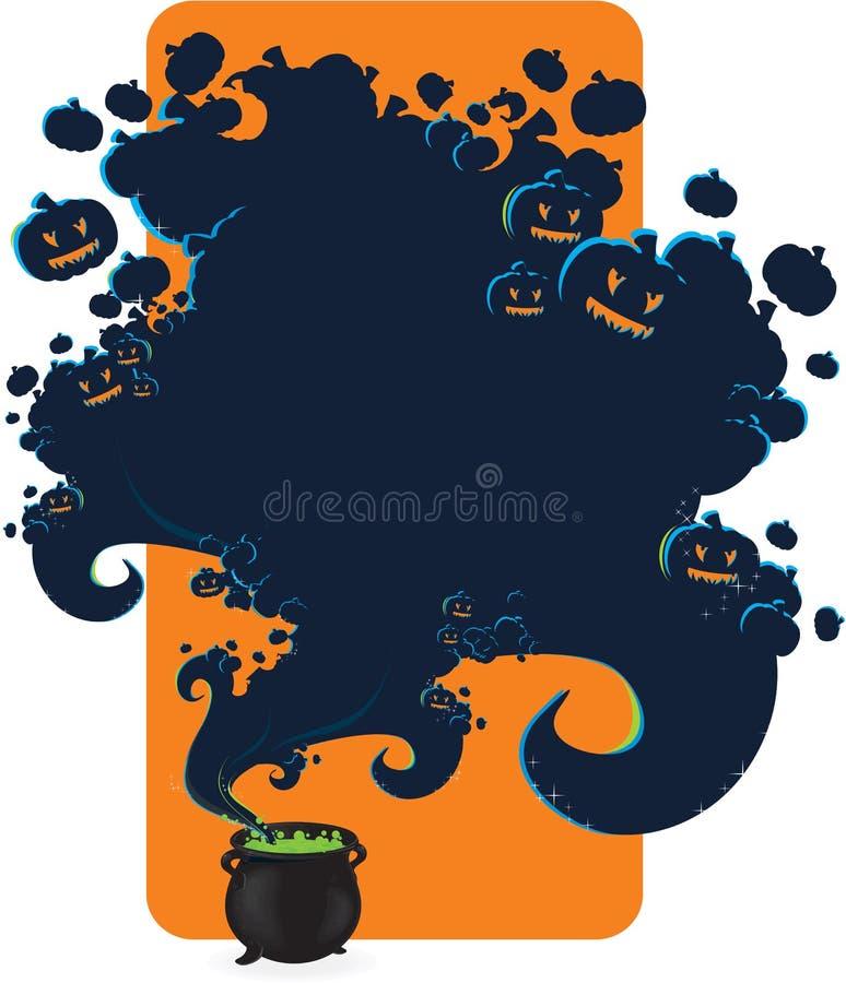 Download Halloween cauldron stock illustration. Image of holiday - 11244597